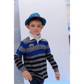 BABYKING童張3253條紋POLO衫110CM~160CM