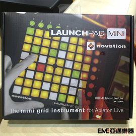 亞邁樂器 Novation LAUNCHPAD MINI MIDI控制板 ^(^~USB連