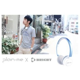 聯名 立體聲藍牙耳機 Plain~me X BRIGHT JOY NFC