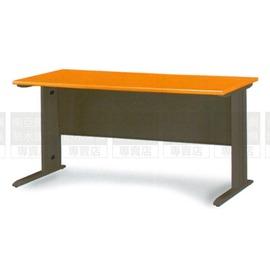 ^~南亞塑鋼傢俱 ^~SCD100木紋主桌^(深灰腳^)鋼製辦公桌^(07HY93~7OU