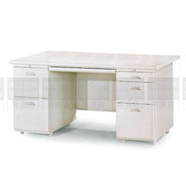 ~南亞塑鋼防水傢俱 ~雙邊辦公桌^(左二屜右三屜^)防水電視櫃^(07HY101~2OU0