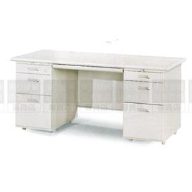 ~南亞塑鋼防水傢俱 ~雙邊辦公桌^(左三屜右三屜^)防水電視櫃^(07HY101~1OU0