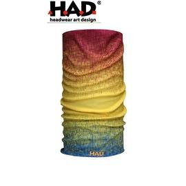 探險家戶外用品㊣HA110-0148 德國製HAD多功能頭巾 陽光五彩 魔術頭巾 重機瑜珈街舞單車排舞