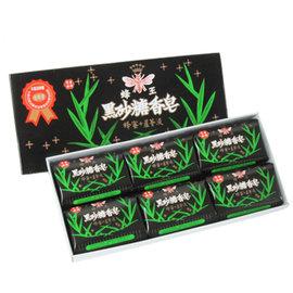 蜂王黑砂糖香皂80g/6入盒 X 6