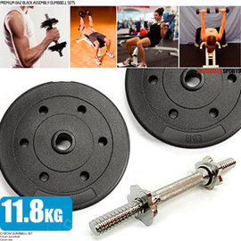 10公斤槓片組+1.8公斤短槓心 M00099 (10KG啞鈴片槓鈴片.26磅舉重量訓練.推薦哪裡買)