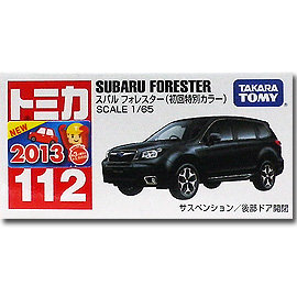~TOMICA~No.112 速霸陸 SUBARU FORESTER ^(初回特別色^)