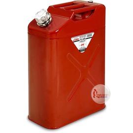 探險家戶外用品㊣TG-20R 日本YAZAWA 20公升 軍規攜帶式油箱 (紅) 防撞防爆汽油桶 儲油桶TR20 汽化爐汽化燈去漬油瓶