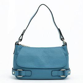 ~YULEE真皮包包~巴黎 都會真皮女包~藍WH~C101~71