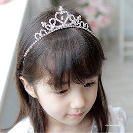 超美立體皇冠髮圈 表演 畢業 婚禮 花童 ~M187~