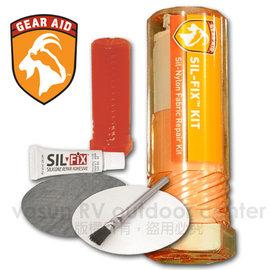 【美國 McNett】Sil-Fix™ Silnylon Repair Kit隨身修補包/修補配件組(矽膠尼龍修補膠+2片補釘).矽膠塗膜專用.野外緊急修補_10465