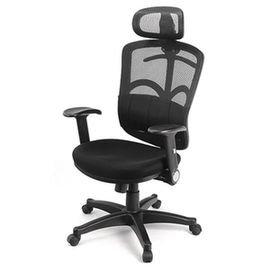 ~DR.AIR~氣墊腰靠透氣網椅^(338LA^) MIT  氣墊椅