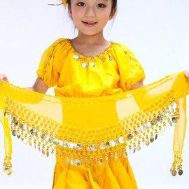 兒童肚皮舞雪紡腰鍊E331-A0115腰鏈.腰巾.表演服.演出服.舞蹈服.肚皮舞腰帶.中東肚皮舞飾品配件推薦哪裡買