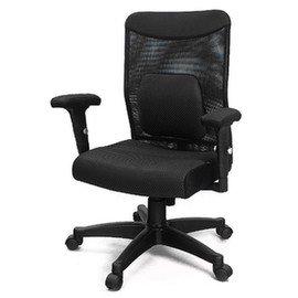 ~DR.AIR~氣墊午睡枕腰靠椅墊大網椅^(258LPA^) ~黑色 MIT  氣墊椅 座