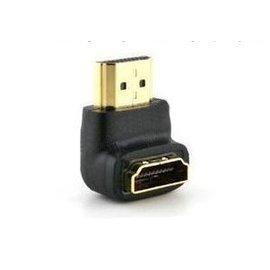 HDMI 公轉母 M/F 轉接頭/延長器/延長頭 (90度彎頭)
