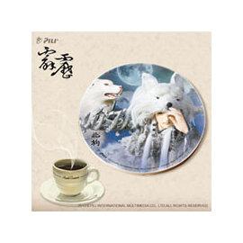 霹靂陶瓷藝術杯墊Ⅱ~ 北狗 小蜜桃~ 140