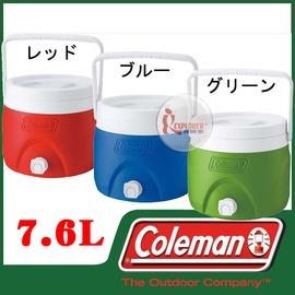 探險家戶外用品㊣CM-1362 美國Coleman 7.6L可堆疊飲料冰桶 保冷桶保冰桶飲料筒CM-1364 CM-1363
