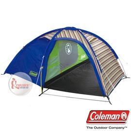 探險家露營帳篷㊣CM-2871 美國Coleman EGG帳篷/印地安搖滾綠 1~2人帳 一房一廳精緻豪華版