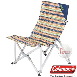 探險家戶外用品㊣CM-3113 美國Coleman 樂活椅/印地安搖滾綠 鋁合金休閒椅大川椅樂活椅導演椅