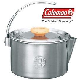 探險家戶外用品㊣CM-5025 美國Coleman 不鏽鋼茶壺1.1L 不鏽鋼燒水壺鍋 咖啡壺 煮水壺 湯鍋