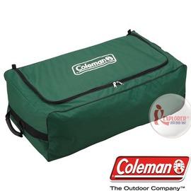 探險家戶外用品㊣CM-7676 美國Coleman 器材攜行袋 滾輪裝備收納袋 帳篷裝備袋 露營行李箱