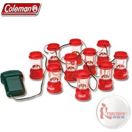 探險家戶外用品㊣CM-9359 美國Coleman 美國Coleman LED小鏈燈(10入) LED營燈 氣氛燈 聖誕裝飾燈