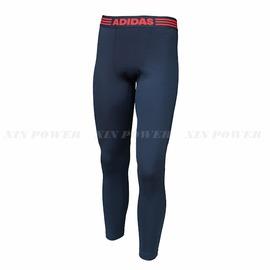 Adidas~男 CLIMAWARM  保暖 刷毛 有氧韻律 健身 運動 長褲-灰 (G83058)