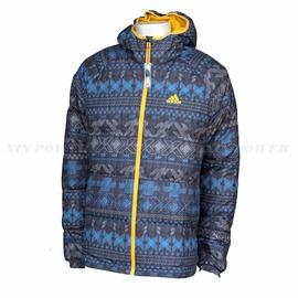 Adidas~男 印花 防風 保暖 輕柔  羽絨外套 (G72185)