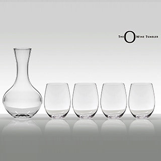 红酒杯4入+o醒酒器