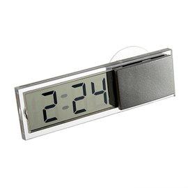 汽車用 吸盤式 透明液晶 數字電子錶/電子鐘/時鐘 [CCO-00001]