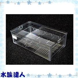 【水族達人】《新型抽屜式滴流盒(便當盒)29.5*17*9.5cm》適用各式上部過濾器
