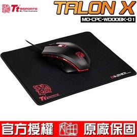 ~恩典電腦~曜越科技 Tt eSPORTS TALON X 塔龍 光學滑鼠與滑鼠墊 包 含