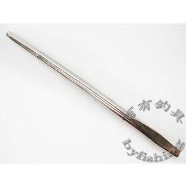 ◎百有釣具◎多角度置竿架 鑿子27cm 上圓外徑12.5mm