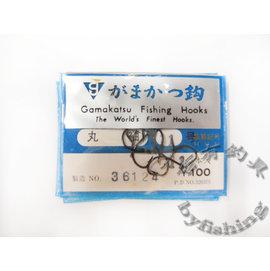 ◎百有釣具◎Gamakatsu 魚鉤 丸袖11號/12號/13號/14號 (有倒鉤)~原價$40特價$25 舊包裝出清 不介意再購買