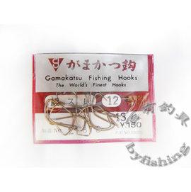 ◎百有釣具◎Gamakatsu 零碼魚鉤 鯉スレ12號(無倒鉤)~原價$40特價$25  可釣烏鰡福壽