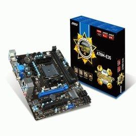 ~ ~MSI 微星 A78M~E35 U3S6 四代軍規全固態 DVI VGA HDMI