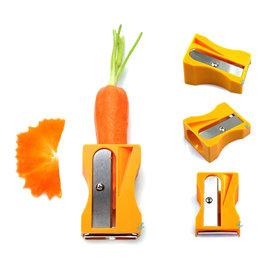創意 蔬果 胡蘿蔔削皮器~輕鬆削出扇形薄片!沙拉必備神器!   ◇/瓜果水果去皮器瓜果刨刀