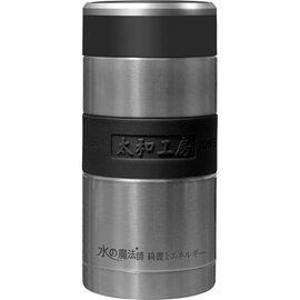 太和工房負離子能量保溫瓶CA【400ml】不銹鋼原色