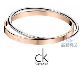 ~錶飾 ~Calvin Klein CK JEWELRY CK飾品 ck手環雙環雙色 31