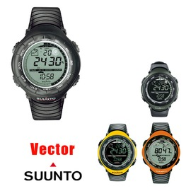 探險家戶外用品㊣SS010600110 芬蘭Suunto Vector Black 電腦腕錶(黑)指北針氣壓計高度計30m防水