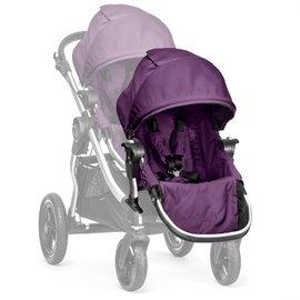 【紫貝殼●現貨】『GB08-2』【限量●銀框紫】2016年新款 Baby Jogger City Select 推車座椅(Second Seat)雙人第二座椅【公司貨】
