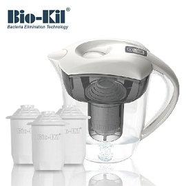 Bio~Kil淨水壺3.5L–純淨白(含3入裝 濾芯)