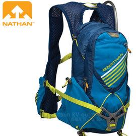 【美國 NATHAN】Elevation UTMB 頂級極地探險運動水袋背包(16L大容量.附2L水袋)馬拉松路跑.越野跑步運動.自行車 NA5031NU 藍