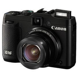 《晶準數位》*福利品*Canon PowerShot G16 (公司貨) F1.8大光圈體積更輕巧,送副電+保護貼