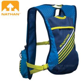 【美國 NATHAN】Firecatcher 超輕追風馬拉松路跑運動水袋背包(5.5L容量.1.5L水袋)/三向穩定系統.越野跑步.自行車三鐵 NA5028NU 藍