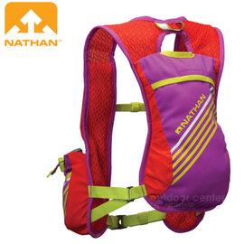 【美國 NATHAN】Firecatcher 超輕追風馬拉松路跑運動水袋背包(5.5L容量.1.5L水袋)/三向穩定系統.越野跑步.自行車三鐵 NA5028NPTL 紫紅