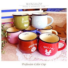【Q禮品】A1843 日式復古咖啡杯-大/造型馬克杯/咖啡杯/早餐杯/zakka雜貨/復古陶瓷杯/日式森林系早餐杯