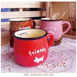 ~Q ~A1844 日式復古咖啡杯~小 馬克杯 咖啡杯 早餐杯 zakka雜貨 復古陶瓷杯