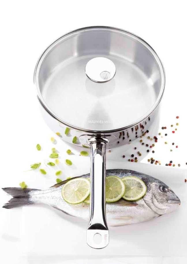 法国【mauviel 1830锅具】basic2 不锈钢汤桶(20cm)592220