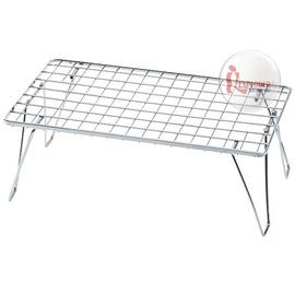 探險家戶外用品㊣611630 日本UNIFLAME(日本製)摺疊置物網架 摺疊桌 料理架 多功能爐架 折合桌