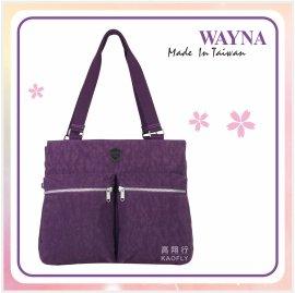 ^~彩虹花 館^~~WAYNA 薇娜~超輕 防水包 托特包 袋 手提袋 大方包 肩背包 製